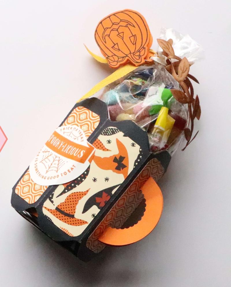 Tutorial Tasse Halloween Envelope Punch Board