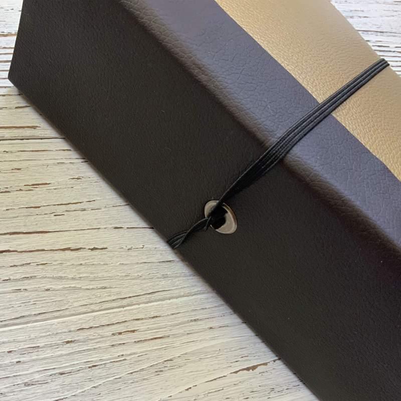 Tutorial Scrapbook für Beginner, Kunstleder Scrapbook leicht Teil 2