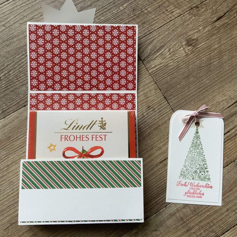 Tutorial: Geschenkverpackung Basteln, 15x15x3 Cm Variabel Schablone FREE, Stampin Up