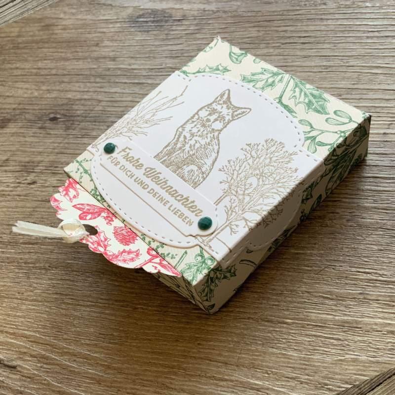 Tutorial One Sheet Wonder, 30×30 Papier – 4 Geschenkverpackung, Schablone FREE,Stampin Up,123