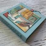 Tutorial Scrapbook Album, Inspiration Memory Book, Mini Album, Stamperia Paperuna5