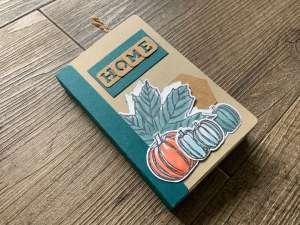 Scrapbook Mini-Album Stampin up Herbstfreuden