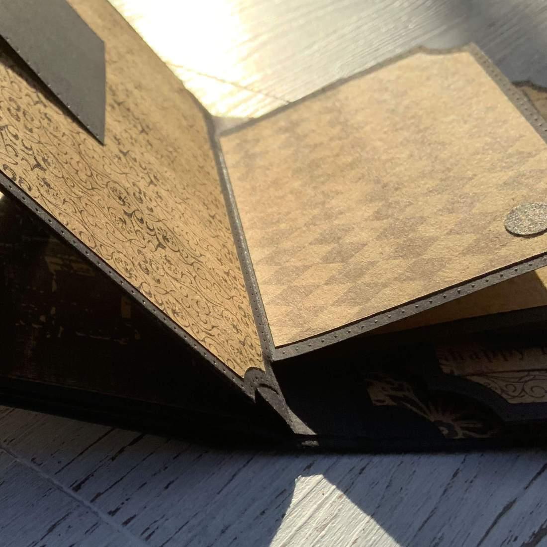 Tutorial: Tonic Studios Simple Spines Die Keepsake Book Maker Stanzschablonen Bindung Hidden Hinge