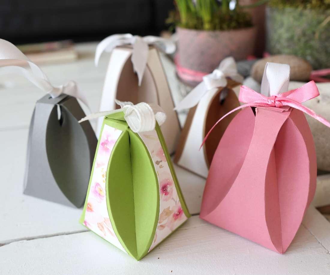 Tutorial: besondere Geschenkverpackung, OSTEREI, Schablone FREE, DIY Idee Action Papier Spampin up