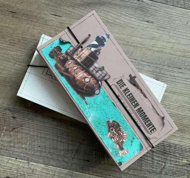 Tutorial Scrapbook Momente, Bisquit Mini Album, Scrapbooking leicht, Ideen basteln Diy Inspiration