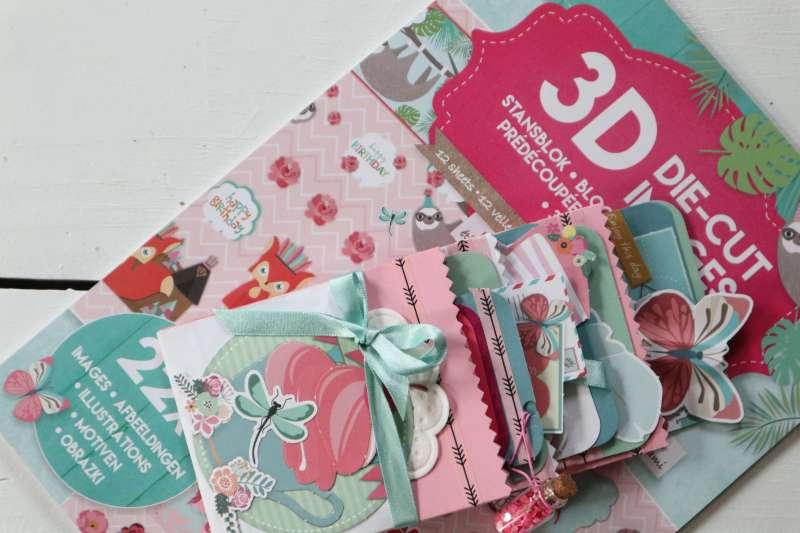 Tutorial: Envelope Loaded Pocket Mini-Album Action 3D Block Umschläge/Tüten basteln leicht gemacht