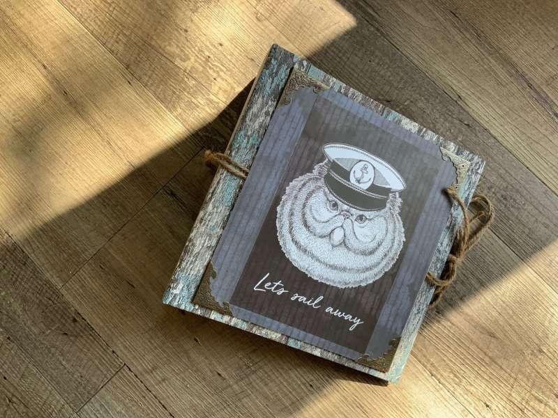 Craft-Update Scrapbook, Action Traveler Album,Mini Album, Scrapbooking Ideen, Action Paper Craft Set