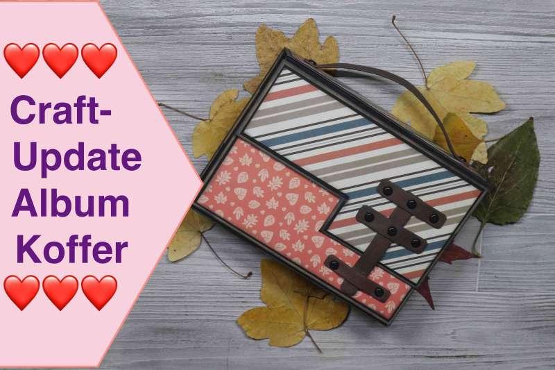 Craft Update Album Scrapbooking Koffer Herbst Scrapbook Paper Pad Recollection