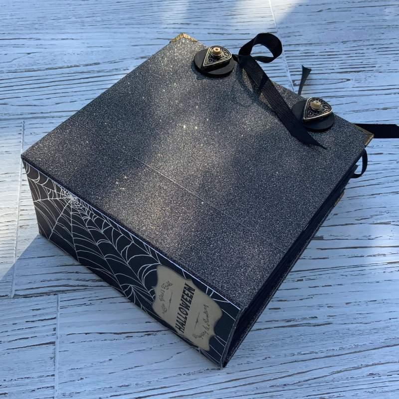 Tutorial DIY Hardcover SCRAPBOOK, Bookbinding Cover, Mini-Album aus Geschenktüten
