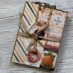 Inspiration Trifolder Mini Album, Tri- fold Card Folio Paper-Craft-Set von Amber Moon Scrapbook