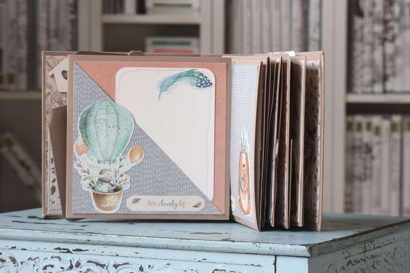 Craft-Update Mini-Album Paper-Craft Set Action Minialbum Scrapbook