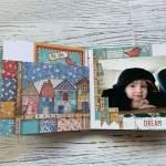 Tutorial Scrapbook Album, Inspiration Memory Book, Mini Album, Stamperia Paperuna