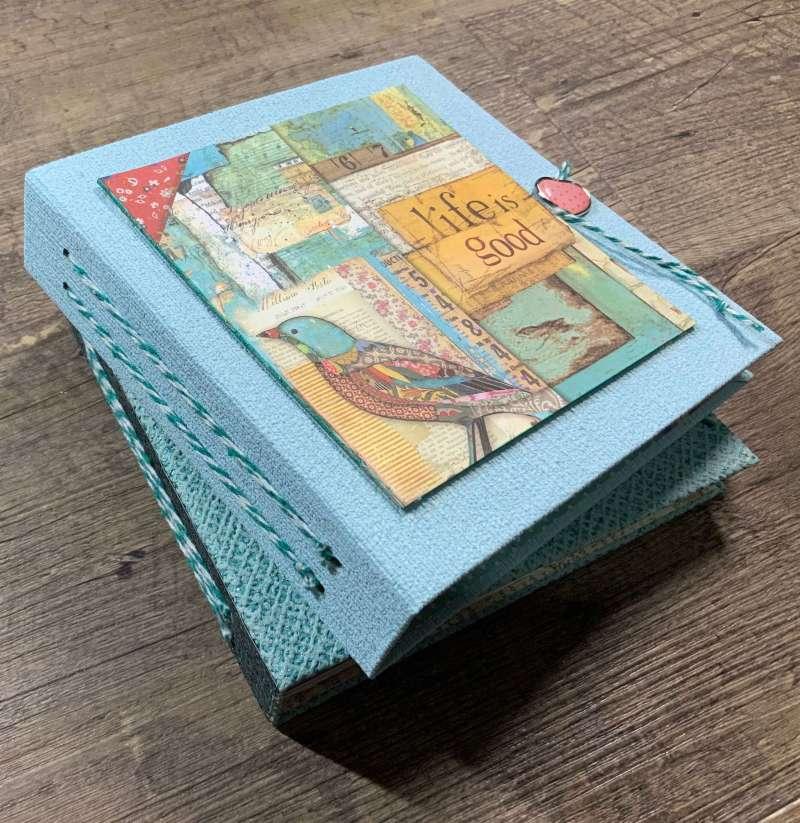 Tutorial Scrapbook Album, Inspiration Memory Book, Mini Album, Scrapbooking Ideen, Stamperia Paper