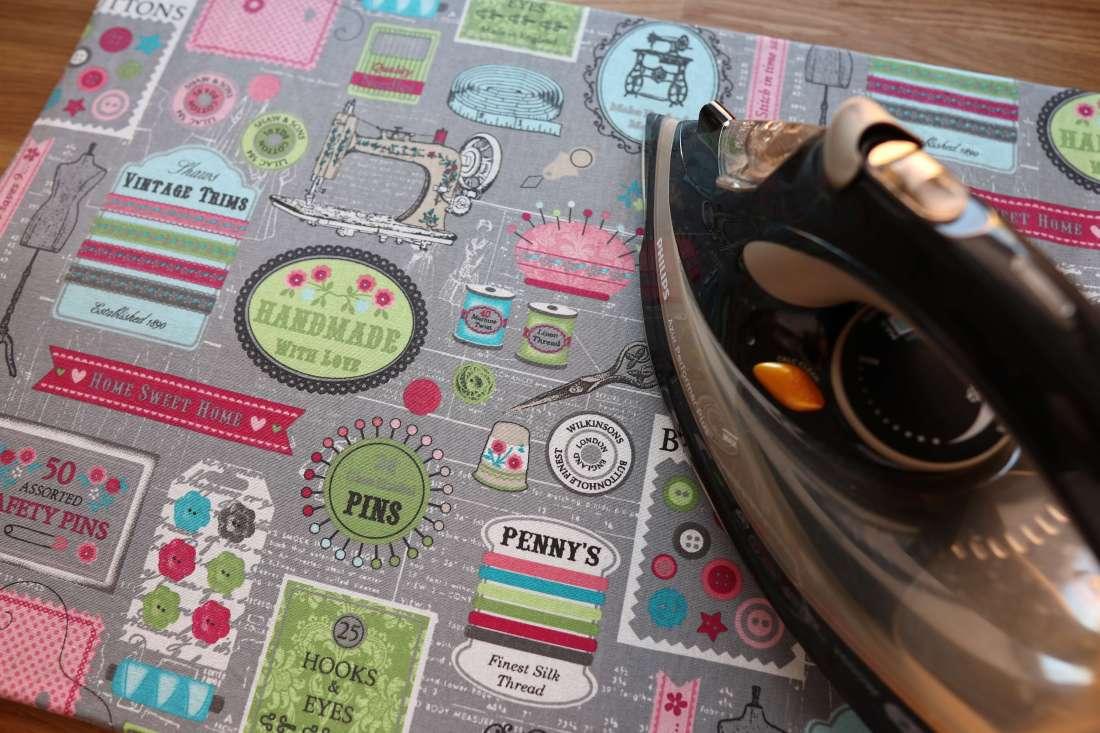 Tutorial: Bügelunterlage Bügelmatte selber nähen /einfache Anleitung / praktisch-schnell-günstig