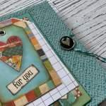 Tutorial Scrapbook Album, Inspiration Memory Book, Mini Album, Stamperia Paperuna3