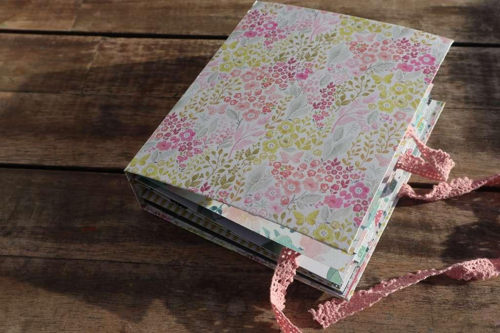 Scrapbook für Anfänger, Tutorial Scrapbook Album für Beginner, Scrapbook leicht gemacht